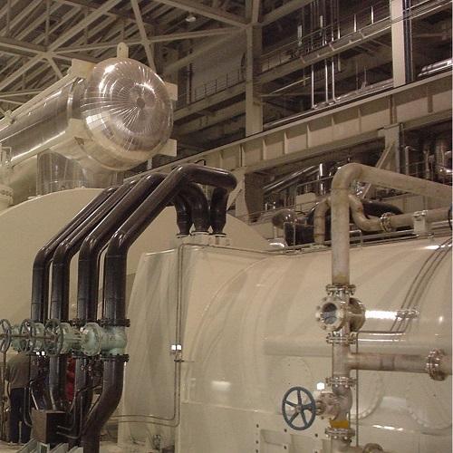 电厂汽机真空系统氦质谱检漏