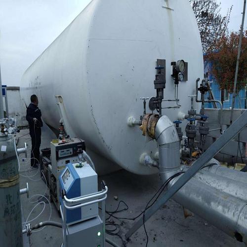 槽车/低温储罐氦质谱检漏