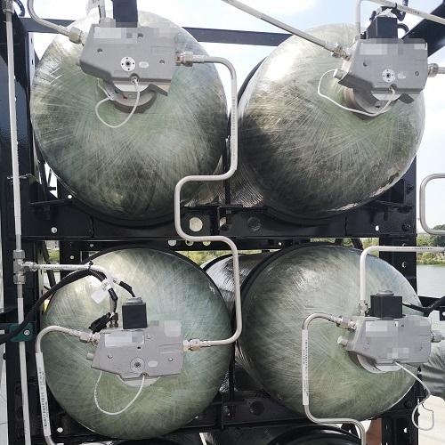 氢气管路氦质谱检漏