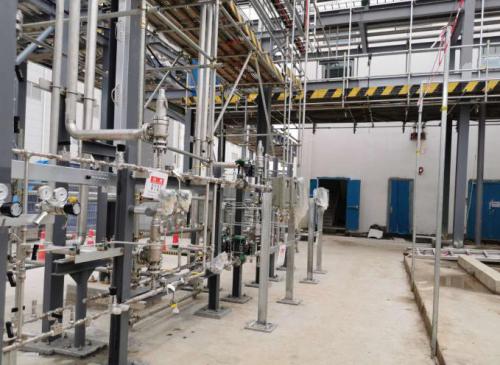 高纯氦气管道/氢气管道检漏